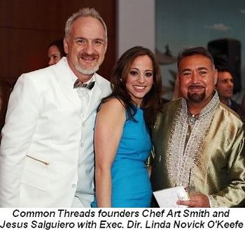 Blog 1 - Founders Chef Art Smith and Jesus Salguiero with Exec.Dir. Linda O'Keefe