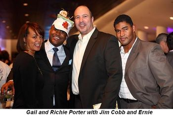 Blog 17 - Gail and Richie Porter with Jim Cobb and Ernie
