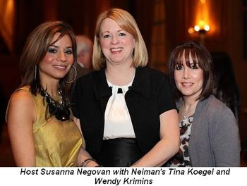 Blog 1 - Host Susanna Negovan, Neiman's Tina Koegel and Wendy Krimins
