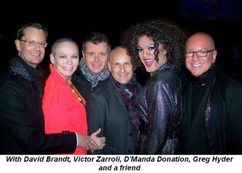 Blog 2 - With David Brandt, Victor Zarroli, D'Manda Donation, Greg Hyder and friend