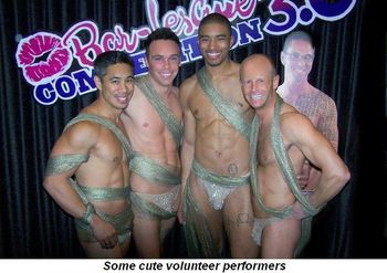 Blog 3 - Some cute volunteer performers