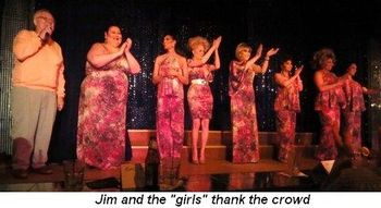 Blog 5 - Jim and the girls thank the crowd