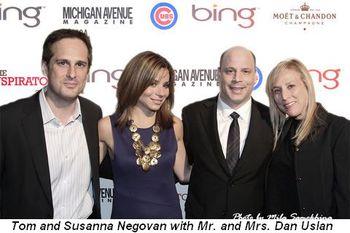 Blog 2 - Tom and Susanna Negovan with Mr. and Mrs. Dan Uslan