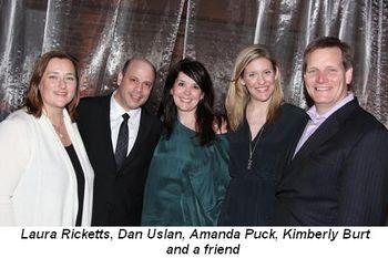 Blog 10 - Laura Ricketts, Dan Uslan, Amanda Puck, Kimberly Burt and friend