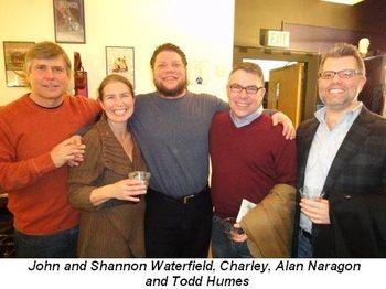 Blog 2 - John and Shannon Waterfield, Charley, Alan Naragon and Todd Humes