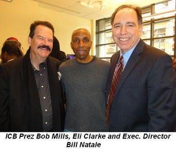 Blog 2 - ICFB Prez Bob Mills, Eli Clarke and Exec. Director Bill Natale