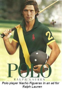 Blog 2 - Polo player Nacho Figueras in ad for Ralph Lauren
