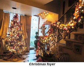 Blog 1 - Christmas foyer