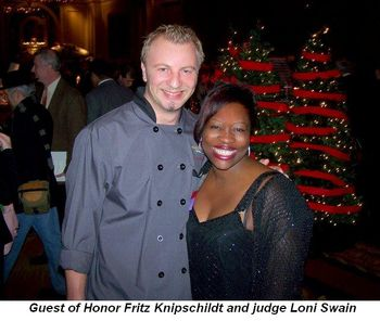 Blog 3 - Guest of Honor Fritz Knipschildt and judge Loni Swain
