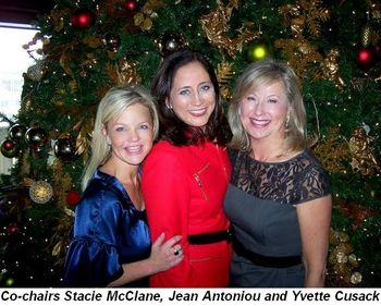 Blog 1 - Co-chairs Stacie McClane, Jean Antoniou and Yvette Cusack