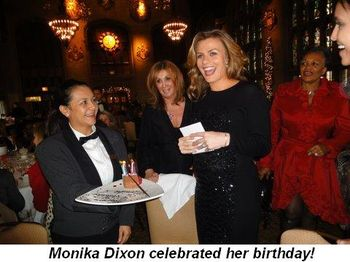 Blog 4 - Monika Dixon celebrated her birthday!