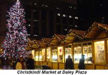 Christkindl Market at Daley Plaza