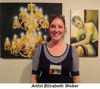 Artist Elizabeth Weber