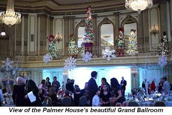 Blog 7 - View of Palmer House's beautiful Grand Ballroom