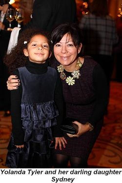 Blog 11 - Yolanda Tyler and her darling daughter Sydney