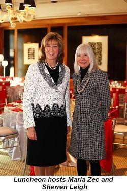 Blog 1 - Luncheon Hosts Maria Zec and Sherren Leigh