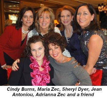 Blog 2 - Cindy Burns, Maria Zec, Sheryl Dyer, Jean Antoniou, Adrianna Zec and friend