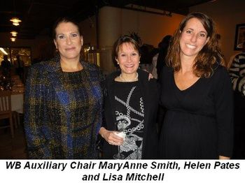 Blog 1 - WB Auxiliary Chair MaryAnne Smith, Helen Pates and Lisa Mitchell