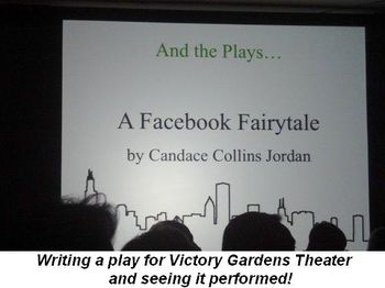 Blog 4 - Writing a play for Victory Garden's Theater and seeing it performed