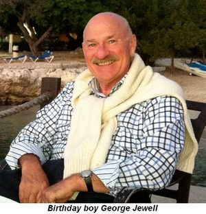 Blog 1 - Birthday boy, George Jewell