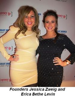 Blog 2 - CheekyChicks.com founders Jessica Zweig and Erica Bethe Levin