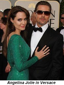 Blog 1 - Angelina Jolie in Versace