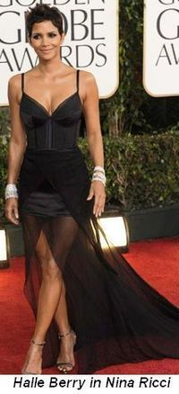 Blog 7 - Halle Berry in Nina Ricci and Harry Winston