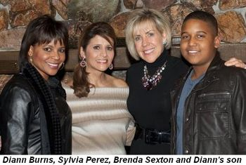 Blog 1 - Diann Burns, Sylvia Perez, Brenda and Diann's son