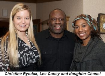 Blog 7 - Christine Ryndak, Les Coney and daughter Chanel