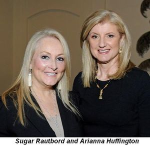 Blog 1 - Hostess Sugar Rautbord and Arianna Huffington