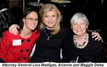 Blog 2 - Attorney General Lisa Madigan, Arianna and Maggie Daley