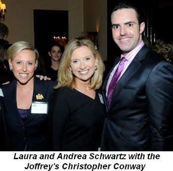 Blog 4 - Laura and Andrea Schwartz and Joffrey's Christopher Conway