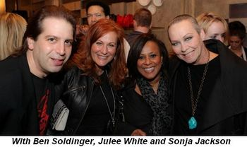 Blog 3 - With Ben Soldinger, Julee White and Sonja Jackson