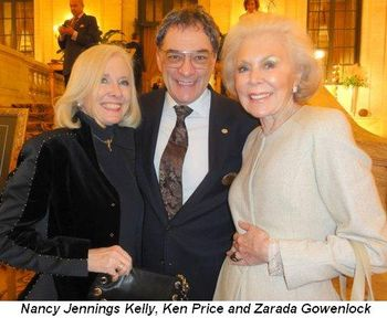 Nancy Jennings, Ken Price and Zarada