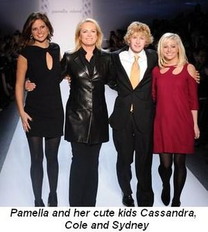 Blog 1 - Pamella and her cute kids, Sydney, Cole and Cassandra