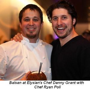 Blog 13 - Balsan at Elysian's Chef Danny Grant and Chef Ryan Poli
