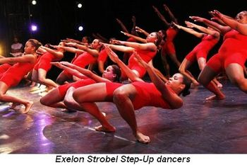 Blog 4 - Exelon Strobel Step-Up dancers