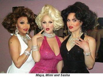 Maya, Mimi and Sasha