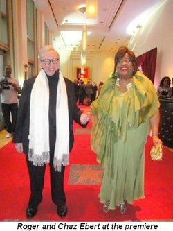 Blog 1 - Roger and Chaz Ebert arriving at their premiere