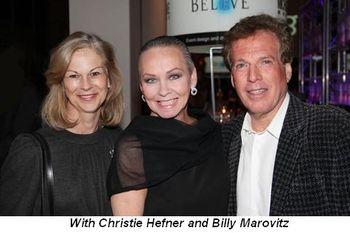 Blog 8 - With Christie Hefner and Billy Marovitz