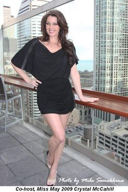 Blog 1 - Co-host, Miss May 2009 Crystal McCahill
