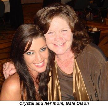 Blog 2 - Crystal and her mom, Gale Olson