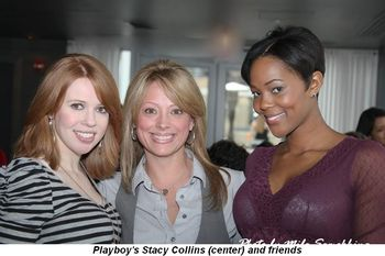 Blog 3 - Playboy's Stacy Collins (center) and friends