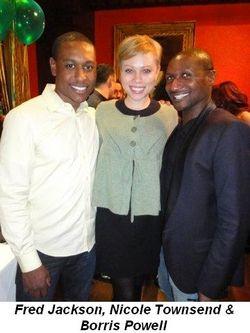 Blog 2 - Fred Jackson, Nicole Townsend and Borris Powell