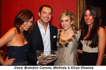 Blog 4 - Cece, Brandon Carone, Melinda and Kiran Khanna