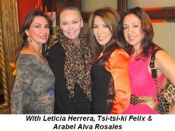 Blog 6 - With Leticia Herrera, Tsi-tsi-ki Felix and Arabel Alva Rosales