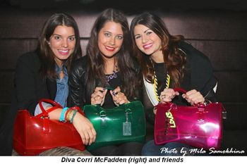 Blog 2 - Diva Corri McFadden (R) and friends