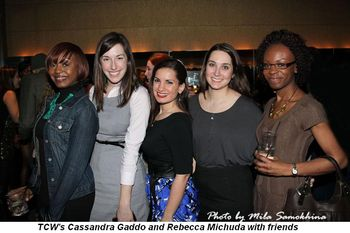 Blog 4 - TCW's Cassandra Gaddo and Rebecca Michuda with friends