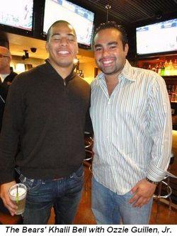 Blog 4 - Bears' Khalil Bell and Ozzie Guillen, Jr.