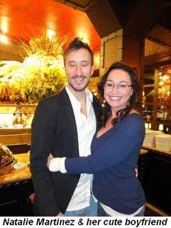 Blog 7 - Natalie Martinez and her cute boyfriend